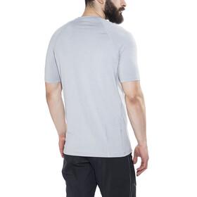 100% Relay Fietsshirt korte mouwen Heren grijs